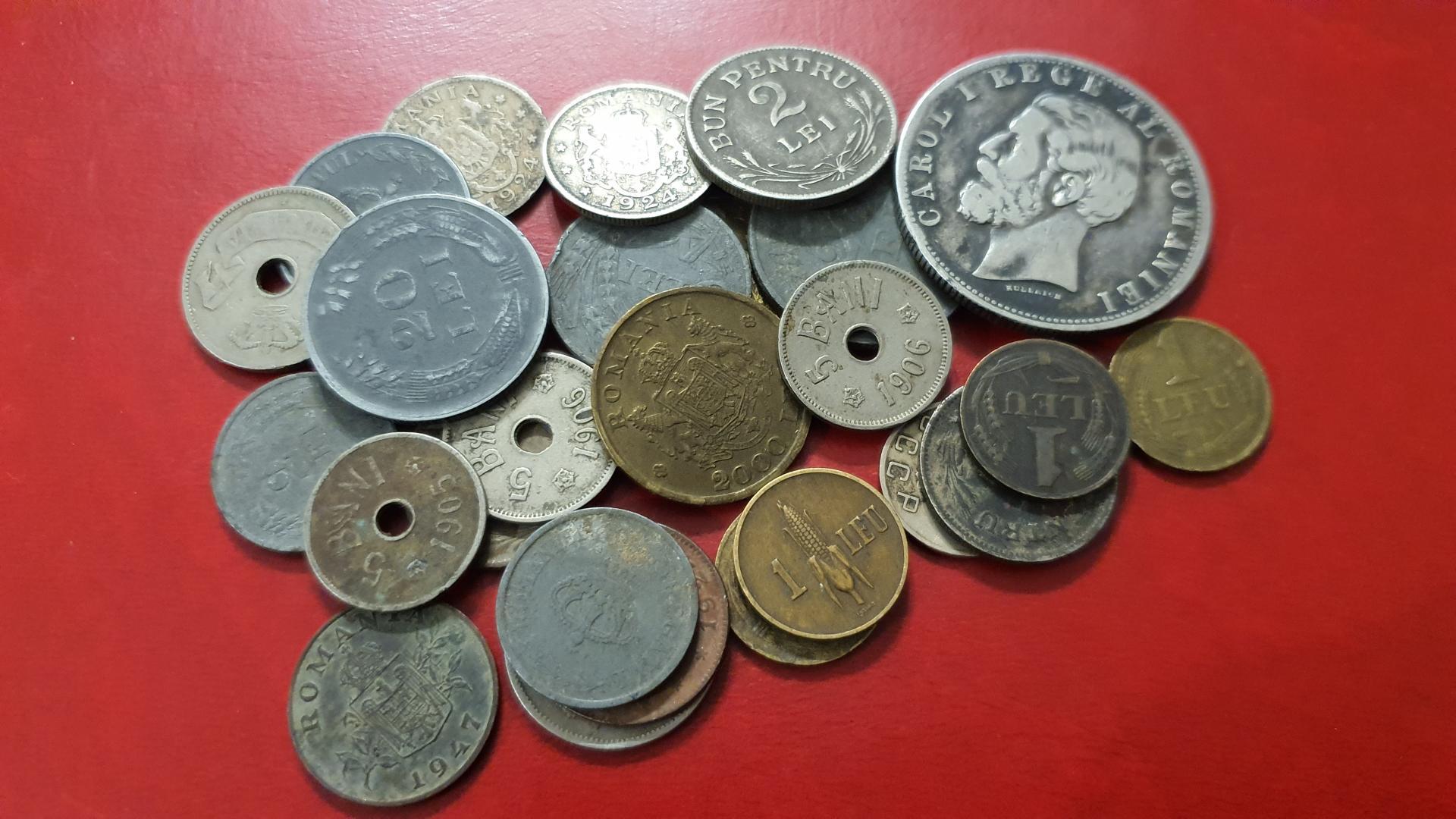 Lot monede Romania